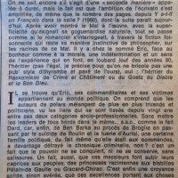Le Monde 13 novembre 1981 délivrez nous du mal 2