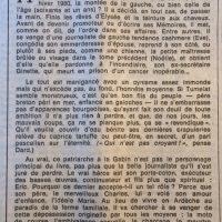 Le Monde 13 novembre 1981 délivrez nous du mal 31