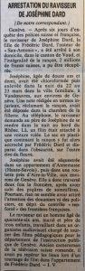 Le Monde 2 avril 1983 article ravisseur Joséphine