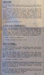 Le Monde 26 aout 1977 petit florilège san-antonien Frustré