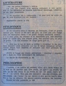 Le Monde 26 aout 1977 petit florilège san-antonien Littérature