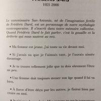 Les anecdotes les plus drôles Frédéric Dard 1