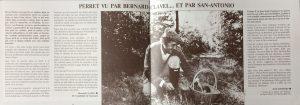 Paroles et musique n°37 article Clavel et San-Antonio