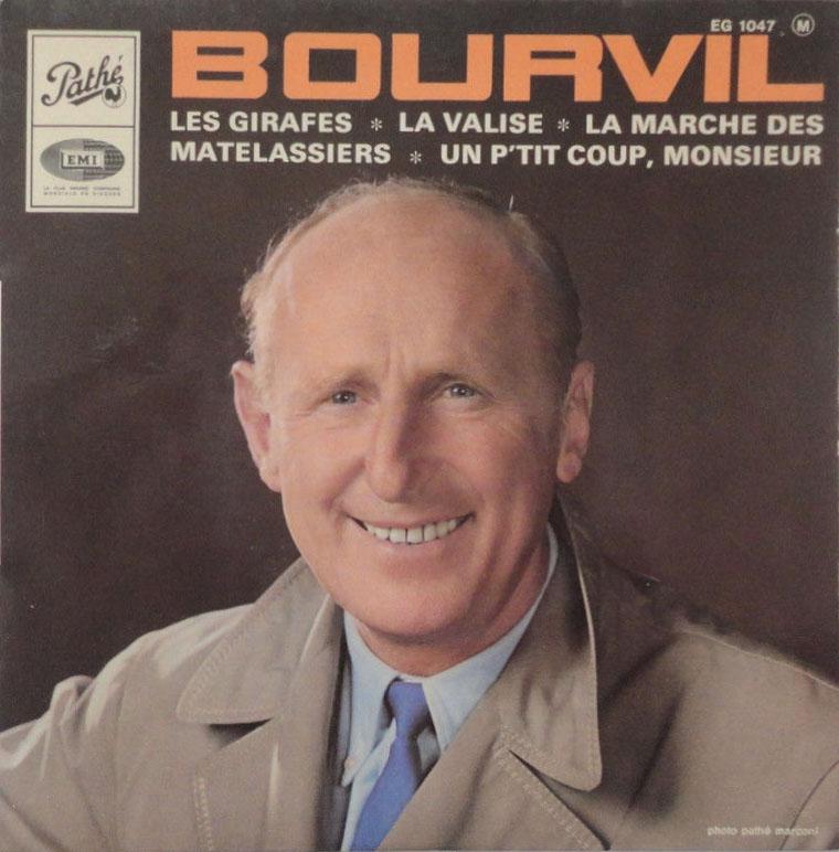 45 T Bourvil les matelassiers