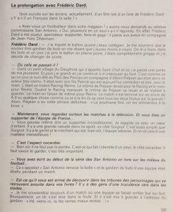 82 Une saison de football La prolongation avec Frédéric Dard