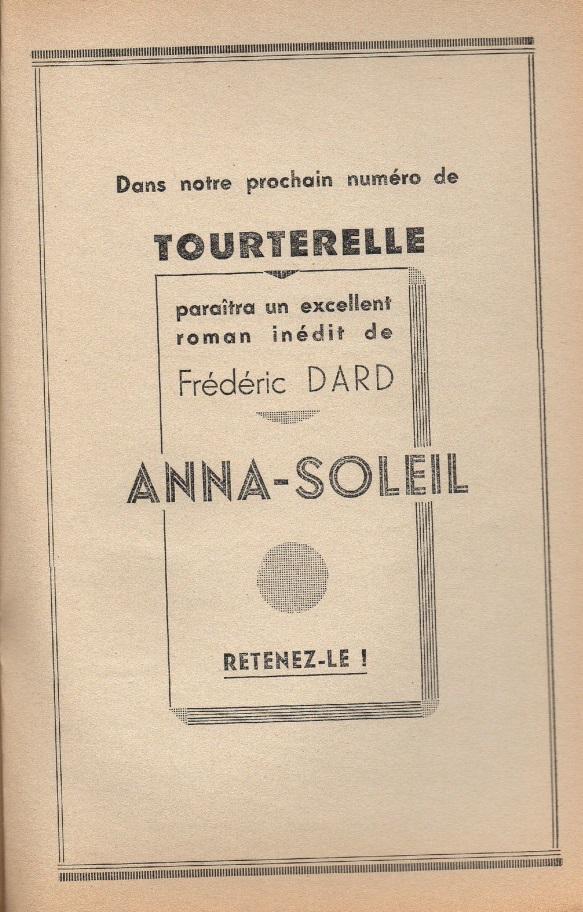 Annonce Anna Soleil