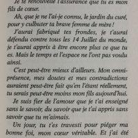 Au bonheur des âmes lettre FD page 97