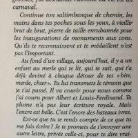 Au bonheur des âmes lettre FD page 98