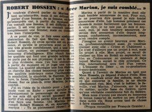 Ciné Revue 17 fév 1956 encart texte