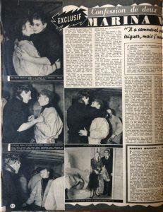 Ciné Revue 17 fév 1956 page 1