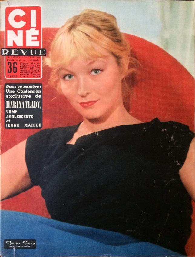 Ciné Revue 17 fév 1956