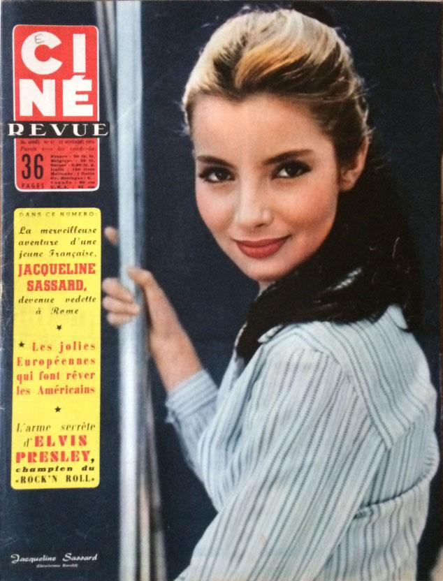 Ciné Revue 23 novembre 1956