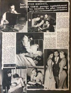 Ciné Revue 23 novembre 1956 article