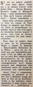 Ciné Revue 23 novembre 1956 texte 1