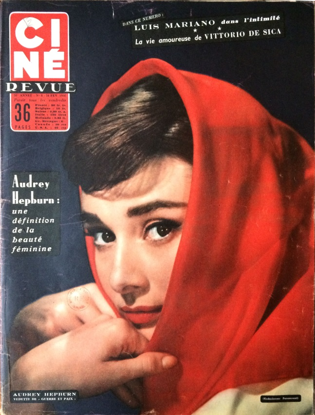 Ciné revue n°8 du 24 février 1956