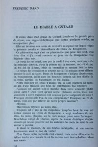 Denis de Rougemont Le diable à Gstaad