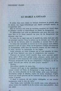 Denis de Rougemont Le diable à Gstaad