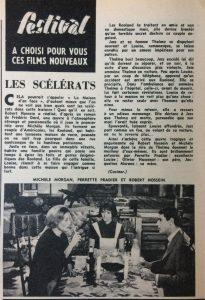 Festival n°572 Les scélérats
