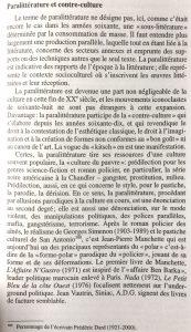 Histoire de la littérature française du 20ème siècle p99