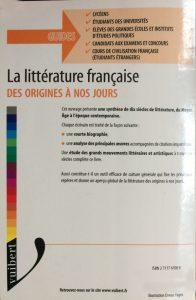 La littérature française des origines à nos jours back