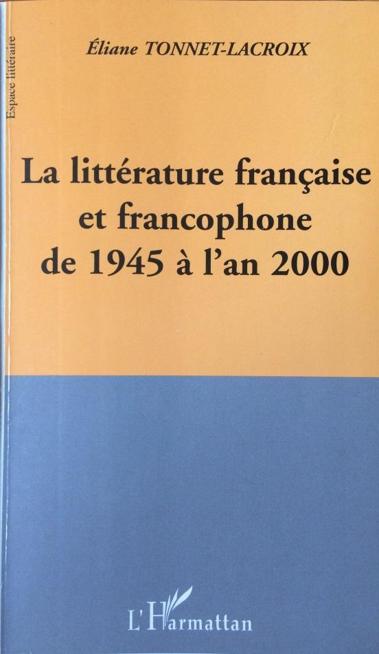 La littérature française et francophone