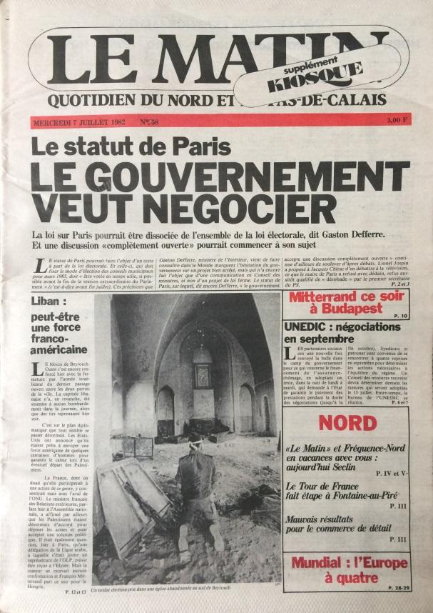 Le Matin n°58