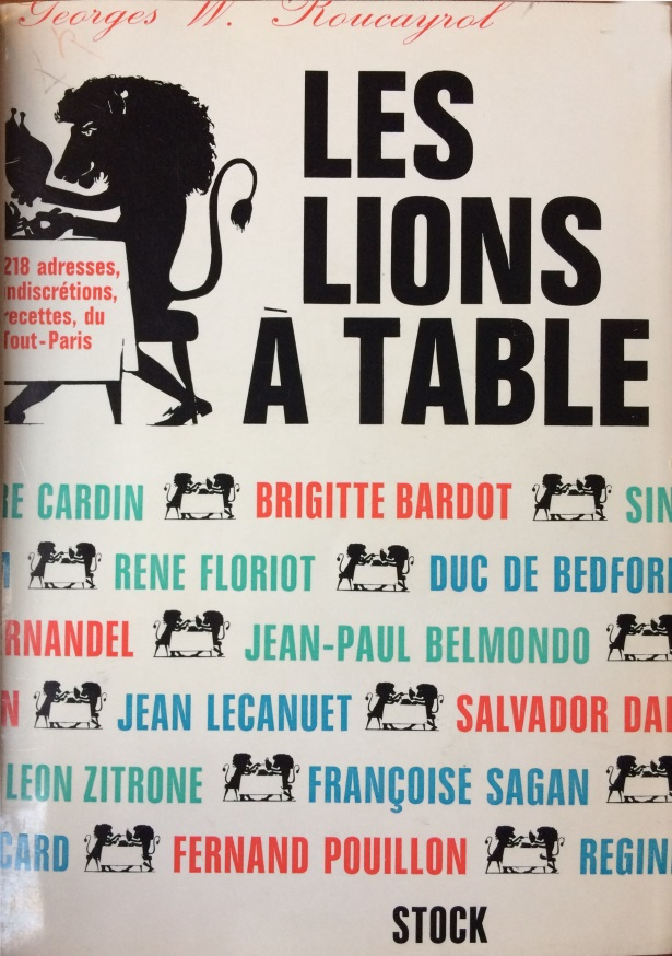 Les Lions à table