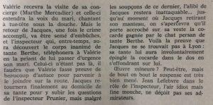 Mystere magazine n°243 Un chat sur la ligne 2