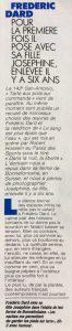 Paris-Match n°2116 texte début