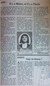 Pariscope texte pierre perret