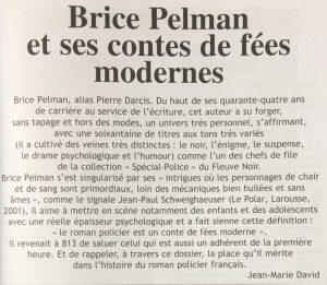 Revue 813 n°88-89 Brice Pelman