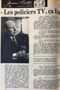 Tele 7 jours 23 février 1963 page 1