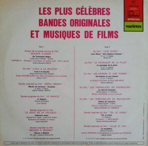 les plus célèbres BO de musique de film back