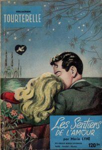 les sentiers de l'amour (Annonce Anna Soleil) COLLECTION TOURTERELLE N° 14. ANNONCE POUR LE N° 15 FREDERIC DARD