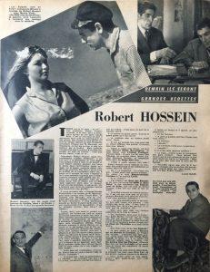 Festival n°570 article sur Hossein