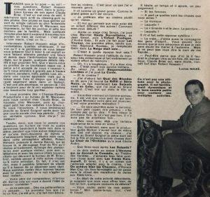 Festival n°570 article sur Hossein - Texte
