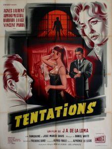 Affiche Tentations