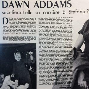 Festival n°649 Texte Dawn Addams