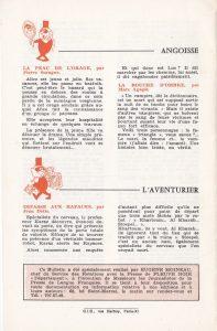 Informations Fleuve Noir n°98 avril 1973 back