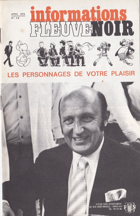 Fleuve Noir informations n°98 avril 1973