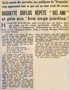 L'aurore 8 décembre 1953 Bel-Ami