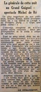 L'aurore 8 décembre 1953 La Garce et l'Ange