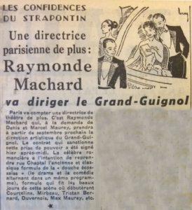 L'aurore n°3287 directrice Grand Guignol