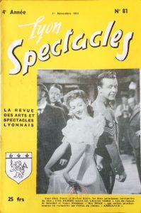 Lyon Spectacles n°81