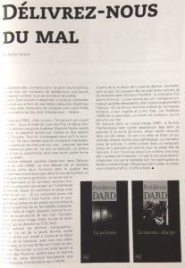 Revue 813 n°107 article Délivrez nous du mal 1