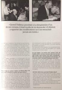 Revue 813 n°107 article Souvenirs de Frédéric Dard 2