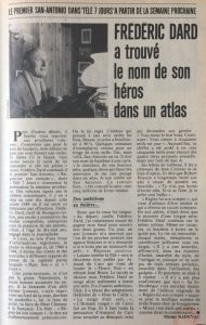 tele 7 jours 3 juillet 82 article Dard