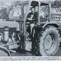 France soir magazine phjoto avec tracteur