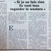 France soir magazine texte Tumelat 2