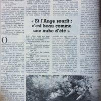 France soir magazine texte Tumelat 4